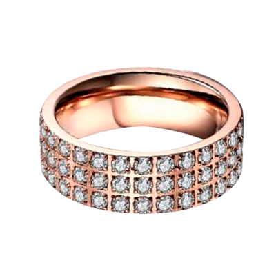 By Kranz - Ring med diamanter