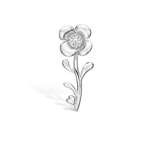 Blossom Copenhagen broche med blomst