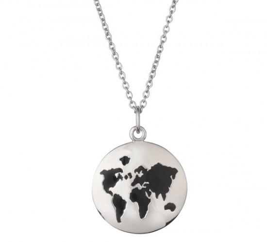 Vores Verden. verdens kort vedhæng fra L&G
