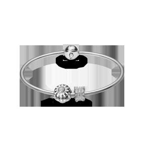 Kampagne armring sølv fra Christina Design London
