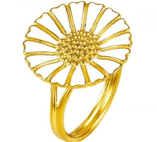 Marguerite ring fra Lund Copenhagen 18mm