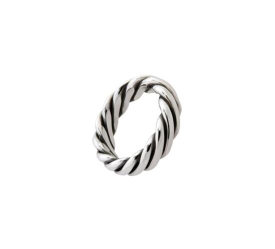 Snoet ring fra Randers Sølv