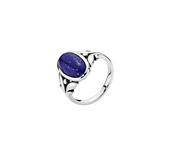 Ring med Lapis Lazuli fra Lund Copenhagen