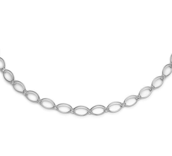 Blank collier fra Randers Sølv