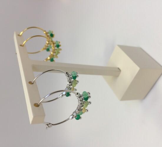 Creol med grønne sten fra Studio Z
