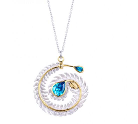 Designers Favorites Halskæde Cirkel Med Zirconia