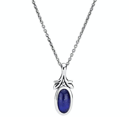 Halskæde med Lapis Lazuli fra Lund Copenhagen
