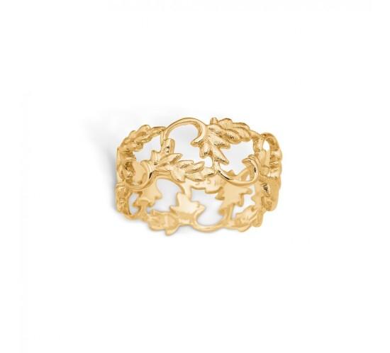 Guld ring fra Blossom