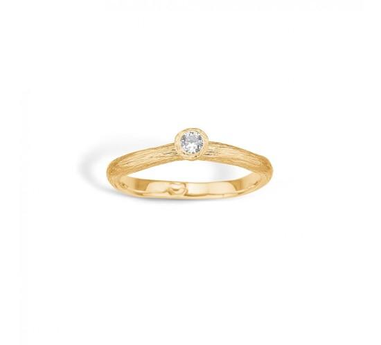 Blossom guld ring
