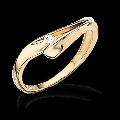 8 kt guld ring fra Scrouples