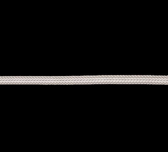 Sølv flettet armbånd fra Scrouples